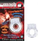 Macho Crystal Cockring Clear Vibrating
