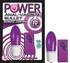 Power Anal Vaginal Bullet Purple