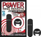 Power Ring Remote Mini Slim Bullet Black