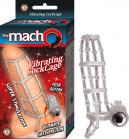 Macho Vibrating Cockcage Clear Sex Toy Product