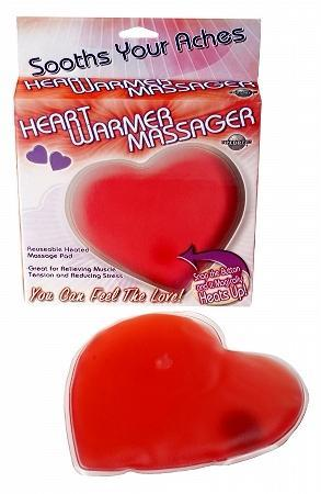 Heart Warmer Massager Red