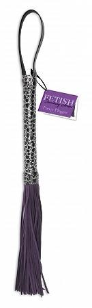 Fetish Fantasy Series Designer Flogger Purple Sex Toy Product