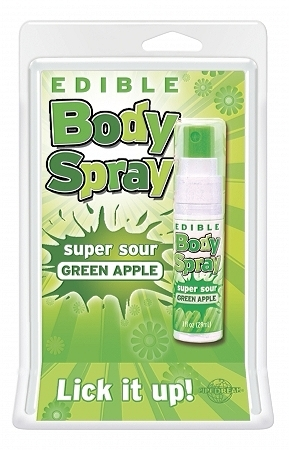 Edible Body Spray Apple
