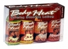 Body Heat Warming Massage Lotion Sampler 4 Pack 1oz Bottles