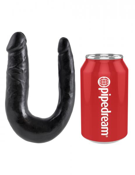 U Shaped Double Trouble Small - Black	 Sex Toy Product