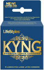 Lifestyles Kyng Premium 3Pk