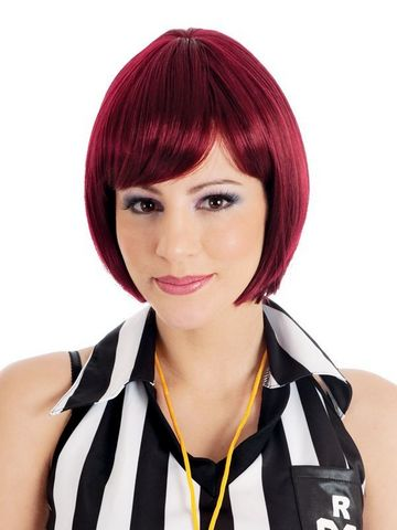 Bliss Chin Length Bob Dark Brown Wig