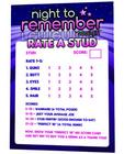 Stud Rating Card Sex Toy Product