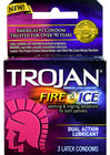 Trojan Fire and Ice 3Pack Sex Toy Product