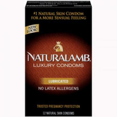 Trojan Naturalamb Lubricated 12 Pack