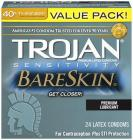 Trojan Sensitivity Bareskin Lubricated