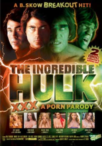 The Incredible Hulk An Xxx Pardoy-Dvd