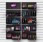 10Pc Modular Wall Unit Display