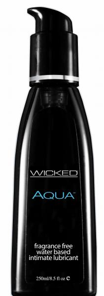 Wicked Aqua Fragrance Free Lubricant 8.5oz Sex Toy Product