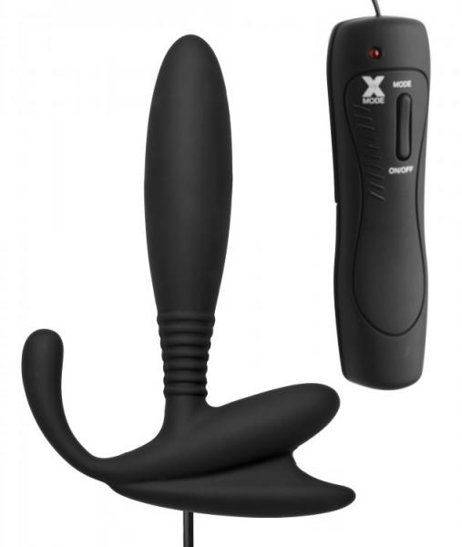 Master Series Cobra P Spot Massager Black Sex Toy Product