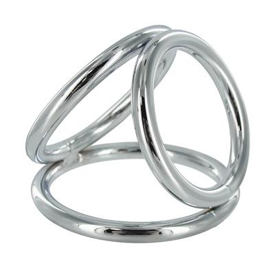 Triad Chamber 2 inches Triple Cock Ring Large Sex Toy Product