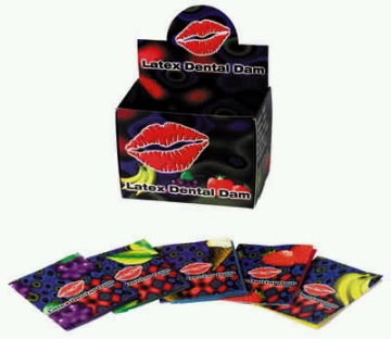 Latex Dental Dam Assorted 1 pc.