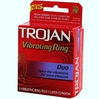 Trojan Duo Vibrating Ring