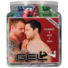 Elbow Grease Assorted Gel Foils (bowl Of 72) Sex Toy Product