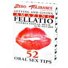 Getting & Giving Amazing Fellatio Cards Sex Toy Product
