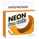 Neon Fun Cuffs - Orange