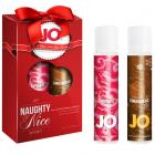 Jo Naughty Or Nice Lube Gift Set (candy Cane & Gingerbread) *special Edition