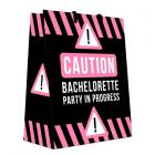 Caution Bachelorette Party In Progress Gift Bag Sex Toy Product