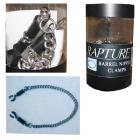Rapture Barrel Screw Heavy Duty Nipple Clamps W/chain