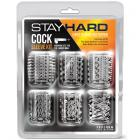 Stay Hard Cock Sleeve Kit Clear 6 Pack