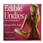 Edible Undies For Women Strawberry Champagne Sex Toy Product