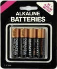 Duracell AA Batteries 4 Pack AA Sex Toy Product