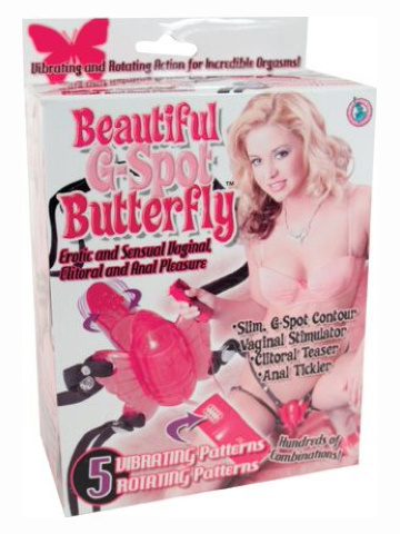 Beautiful G Spot Butterfly Red