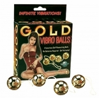 Gold Vibro Balls 4pc. set