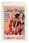 Lover's Jelly Anal Beads - Purple