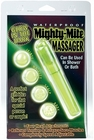 Mighty-Mite Waterproof Massager -Glow