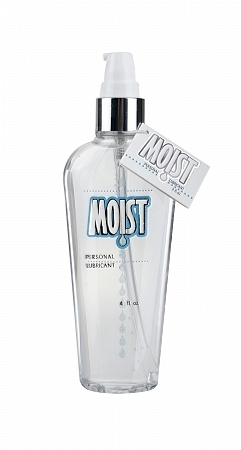 Moist Personal Lubricant - 4 oz Sex Toy Product