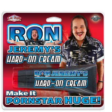 Ron Jeremy's Hard On Cream - .5 oz