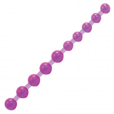 Purple Jelly Anal Beads