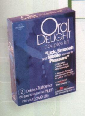 Oral Delight Couples Kit