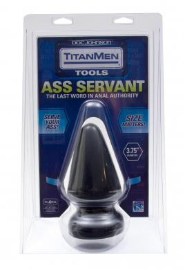 Titan Men Butt Plug 3.75in Diameter Ass Servant