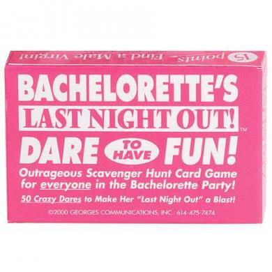 Bachelorettes Last Night Out Game