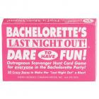 Bachelorettes Last Night Out Game Sex Toy Product