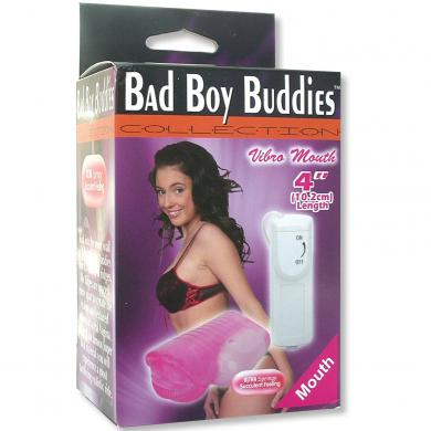 Bad Boy Buddies Vibrating Mouth