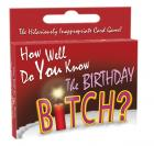 How Well Do You Know The Birthday Bitch?Card Game Sex Toy Product