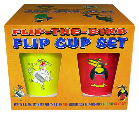 Flip The Bird Cup Set