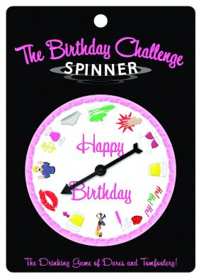 Birthday Challenge Spinner Game