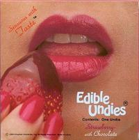 Edible Undies 3/Set-Chocolate