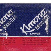 Kimono Microthin Large Latex Condoms 3 Pack