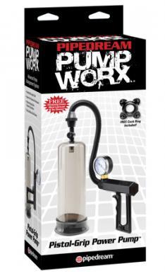 Pump Worx Pistol Grip Power Pump Black