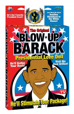 Blow Up Barack Love Doll